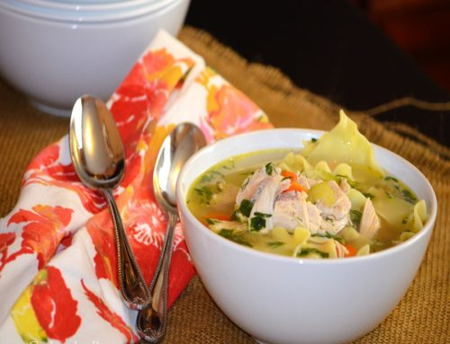 Simple Leftover Turkey Noodle Soup Recipe