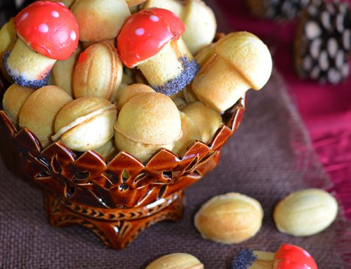 Oreshki and Gribochki – Walnut and Mushroom cookies with Creamy Dulche de Leche Filling