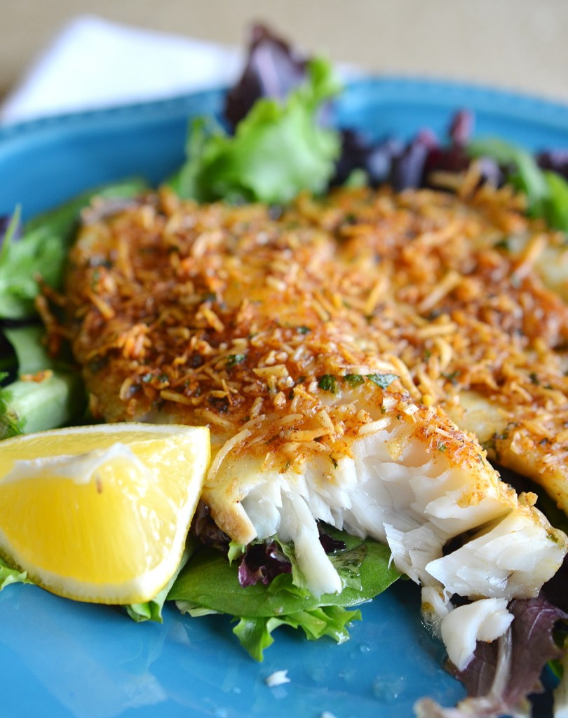 Easy Baked Parmesan Fish