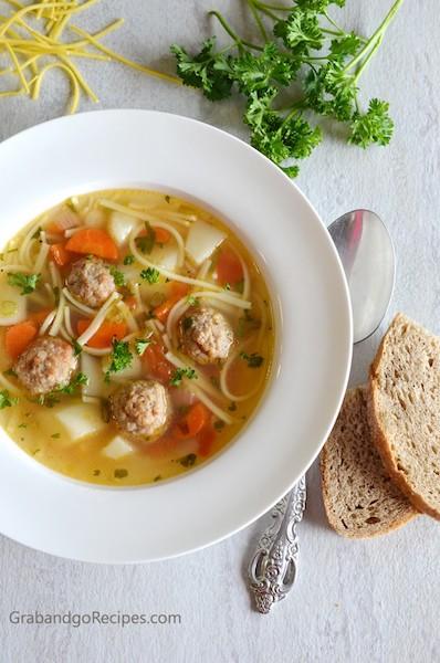 Easy Meatball Soup