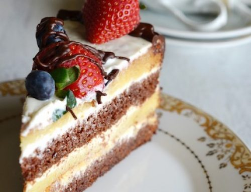 "Smetannik Cake (Торт ""Сметанник"")"