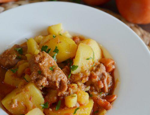 "Mom's Braised Potatoes Recipe ""Тушеная Картошка"""