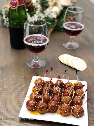 Easy Party BBQ Meatballs