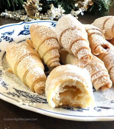 Rogaliki Cookies - Russian Rugelach