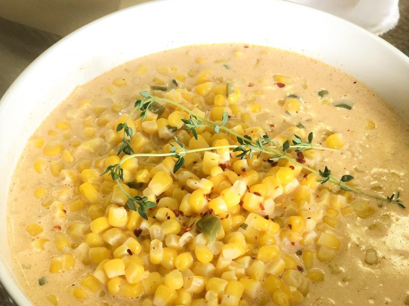 Slow Cooker Creamed Corn Recipe