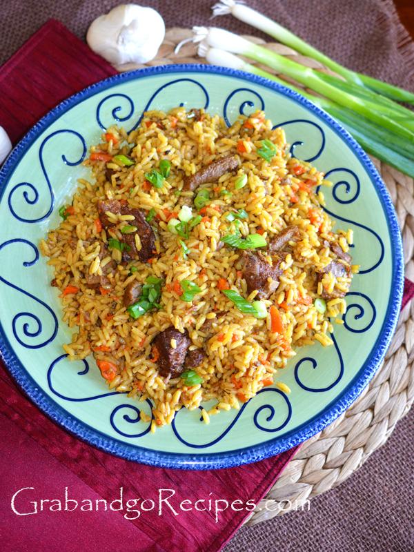 Plov-Uzbek Rice Pilaf Recipe
