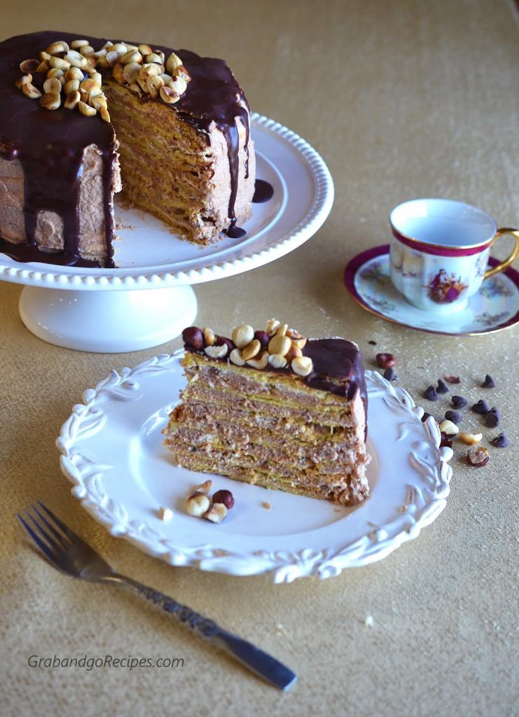 "Marquise Cake (Markiza Cake) ""Торт-безе ""Маркиз"""